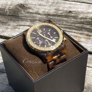 Michael Kors Tortoise Watch MK5557